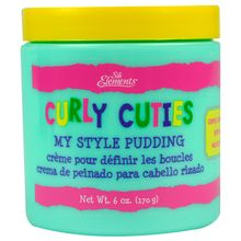 Crema de peinado para cabello rizado de niños
