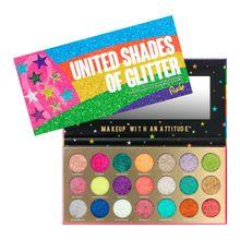 Paleta de Sombras United Shades of Glitter