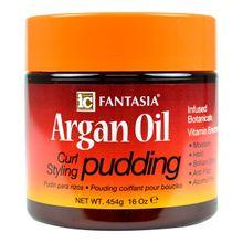 Crema Estilizadora para Rizos con Aceite Argán Pudding