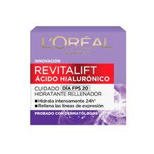Crema Hidratante Revitalift Acido Hialuronico Loreal 50ml
