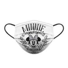 Cubrebocas Adulto Minnie Black & White